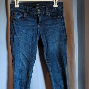 Ann Taylor Skinny Modern Fit Dark Wash, Size 0